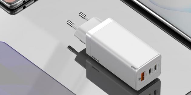Цена дня: адаптер Xiaomi Baseus на 65 Вт с возможностью зарядки ноутбука за 1 863 рубля
