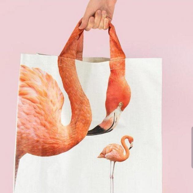 пакет с фламинго