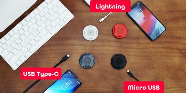 Штука дня: WiPatch — магнитный «блинчик», который превратит любую зарядку в беспроводную
