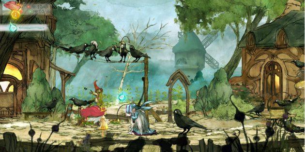 Лучшие РПГ-игры: Child of Light