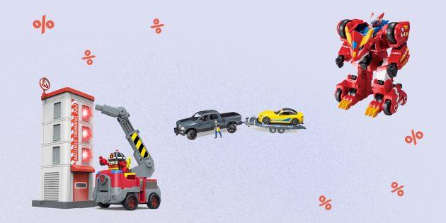 Gulliver Toys: промокод даёт право на скидку 15%для читателей Лайфхакера