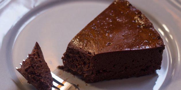 Шоколадный торт-мусс из 3 ингредиентов