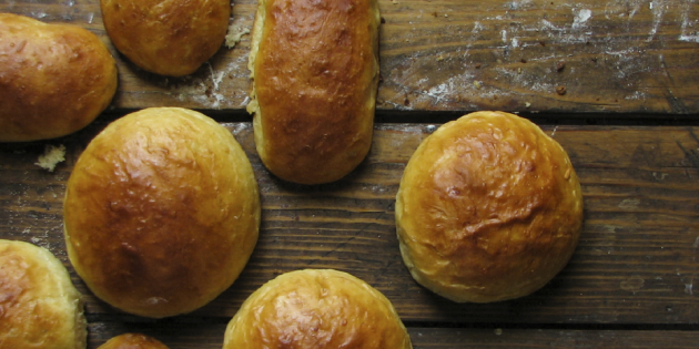 Универсальные булочки для бургеров и хот-догов