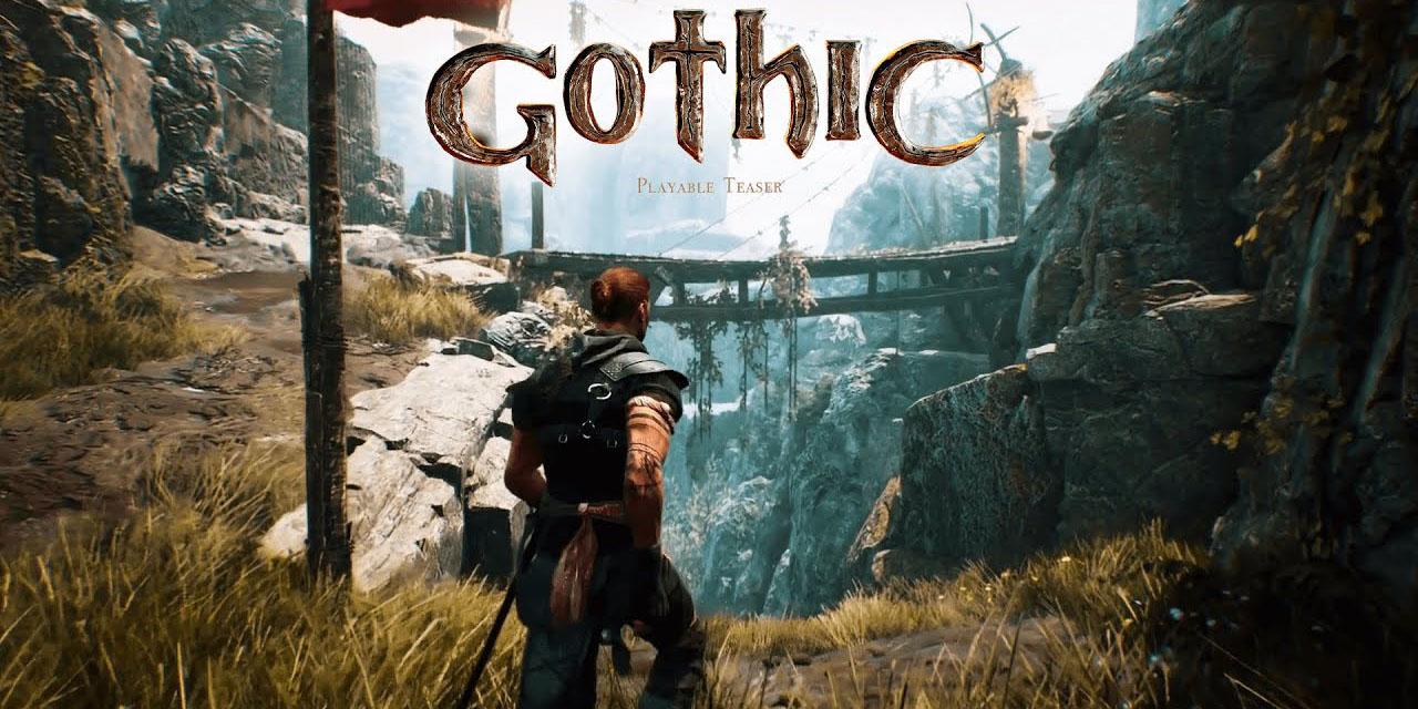 Анонсирован ремейк культовой RPG Gothic. В Steam уже есть демо-версия