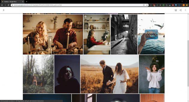 Программа для просмотра фотографий Google Фото