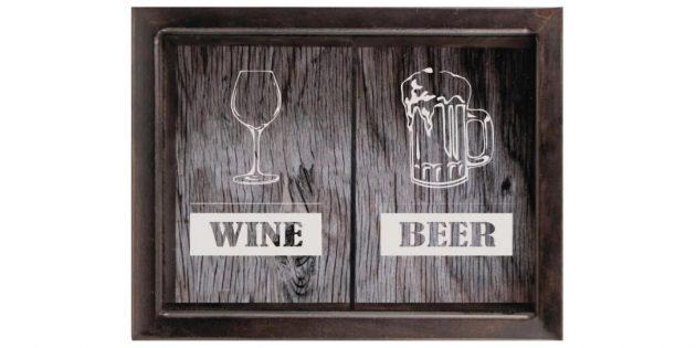 Копилка для пробок от вина и пива