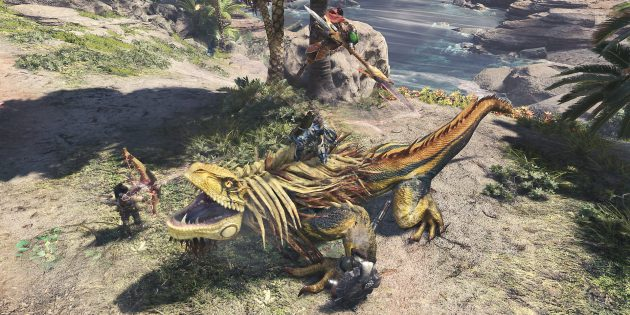 Лучшие RPG: Monster Hunter: World