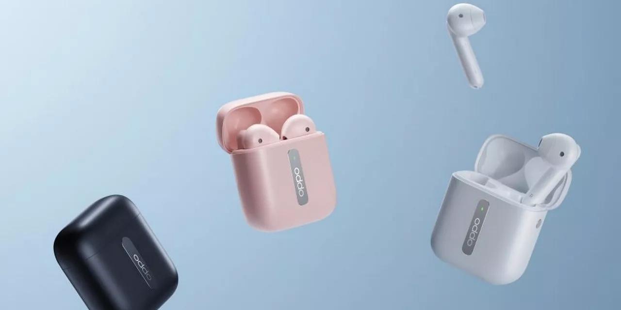 OPPO Enco Free — наушники-вкладыши в стиле AirPods, но со сменными силиконовыми насадками