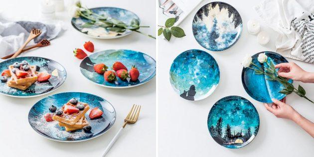Керамические тарелки