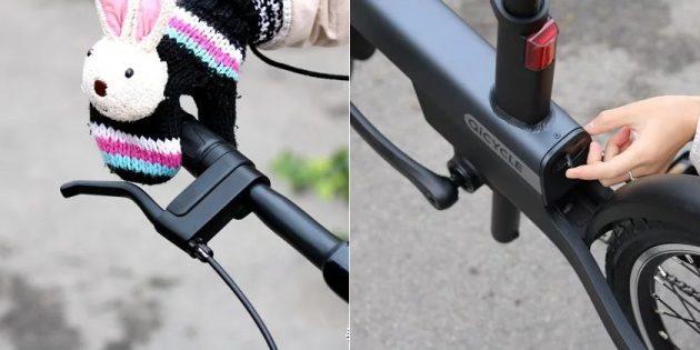 электровелосипед Qicycle
