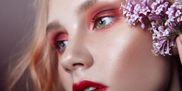 Модный макияж — 2020: мягкая розовая растушёвка