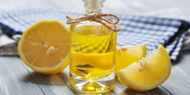 Ароматное масло с лимоном