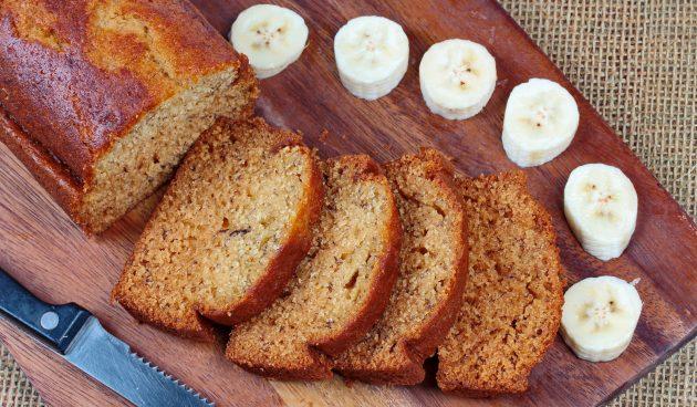 Банановый хлеб с корицей