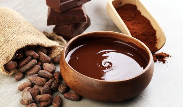 Нежная шоколадная глазурь из какао