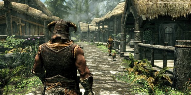 Лучшие РПГ: The Elder Scrolls V: Skyrim