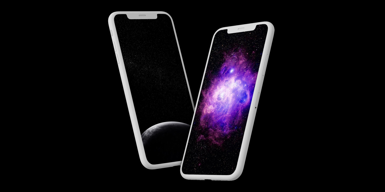 12 космических фоновых картинок для смартфонов с OLED-дисплеями