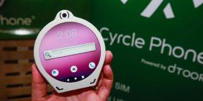 На CES 2020 представили круглый Android‑смартфон Cyrcle Phone