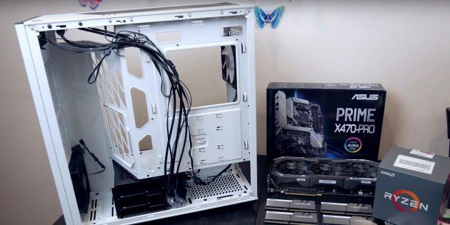 Как собрать компьютер: подготовьте корпус