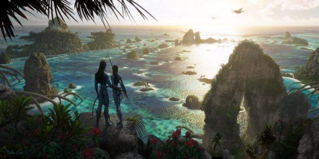 Джеймс Кэмерон показал концепт-арты второй части «Аватара»
