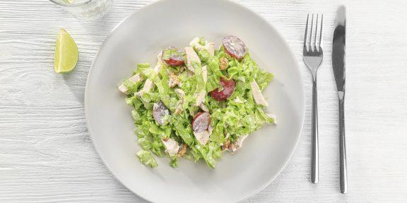 10 вкуснейших салатов с виноградом