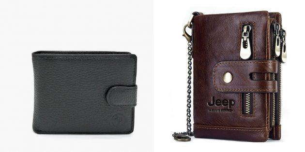 Подарки коллегам на 23 февраля: кошелёк