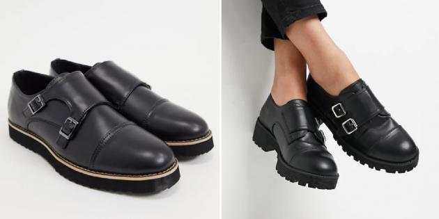 Классическая обувь: монки
