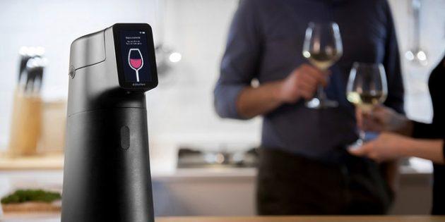 Штука дня: Albicchiere — диспенсер, который сохраняет вино свежим до 6 месяцев