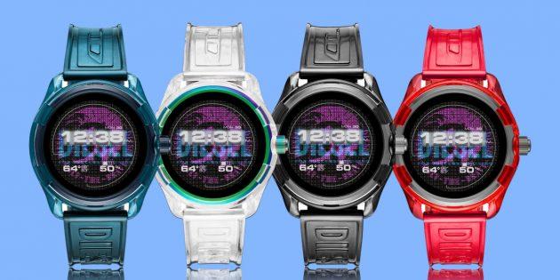 умные часы на Wear OS: Diesel Fadelite