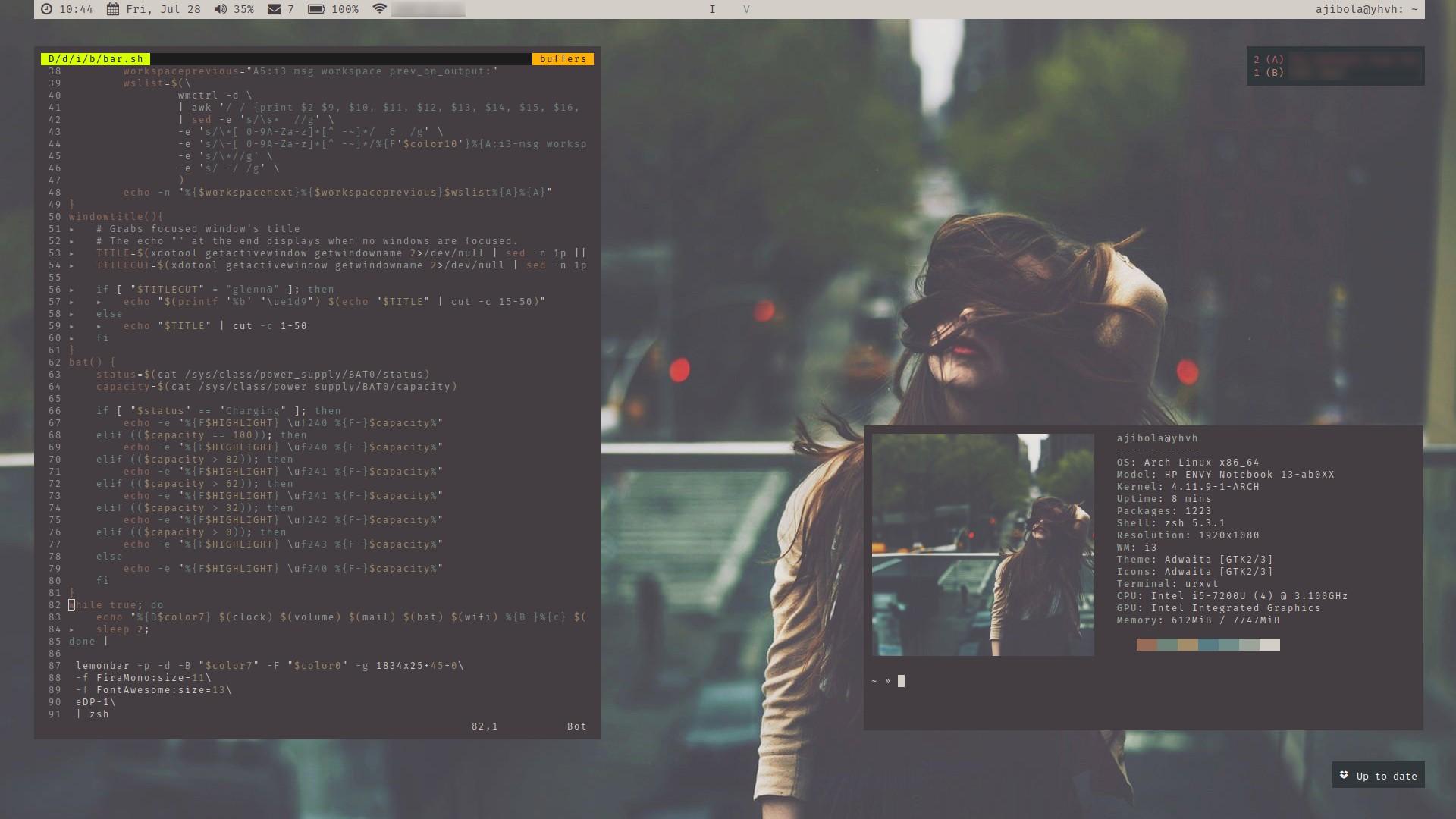 Дистрибутивы Linux: Arch