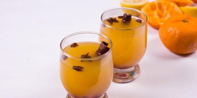 Лимонад из мандаринов