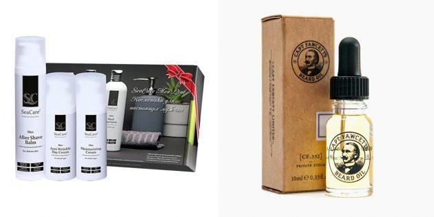Подарки парню на 23Февраля: набор для ухода за собой