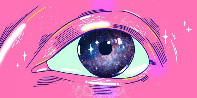контактные линзы, факты о глазах