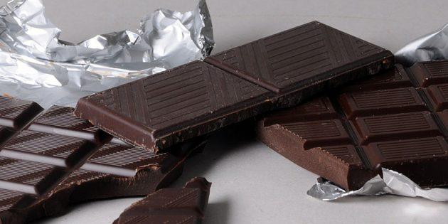 В каких продуктах содержится магний: чёрный шоколад
