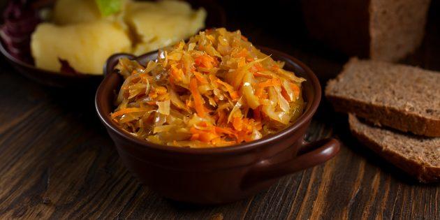 Начинка для чебуреков с капустой и морковью: простой рецепт