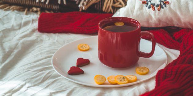 Как есть кумкват: чай каркаде с кумкватом
