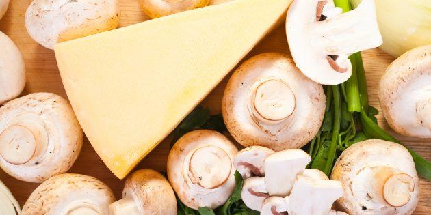 Начинка для чебуреков с грибами и сыром: простой рецепт