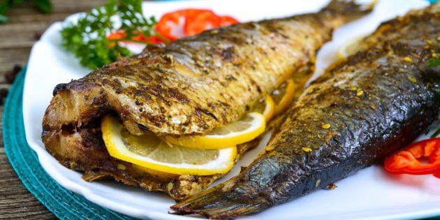 Рыба с лимоном и майонезом в духовке: простой рецепт