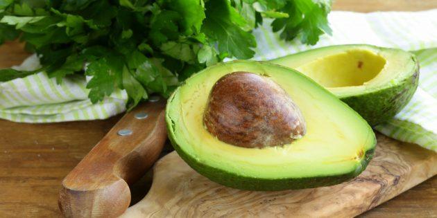 В каких продуктах содержится магний: авокадо