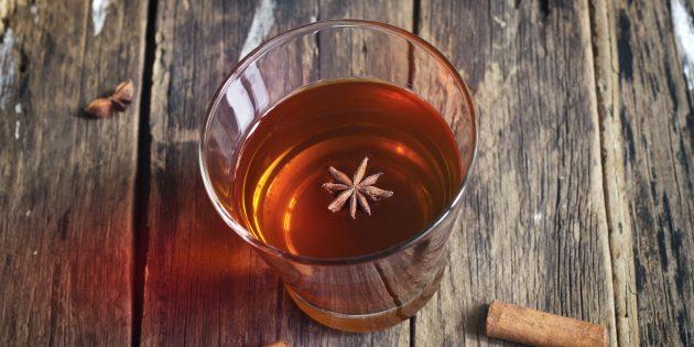 Грог с ромом, коньяком и мёдом: простой рецепт