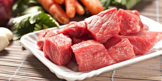 Сколько варить говядину: свежее мясо