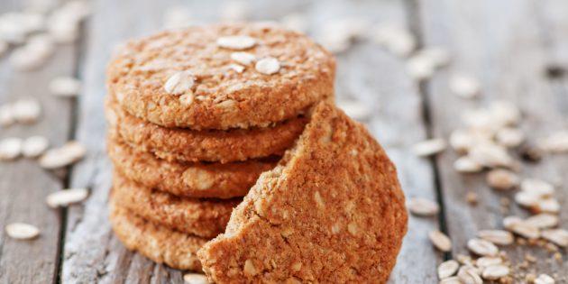 Овсяное печенье с корицей: простой рецепт