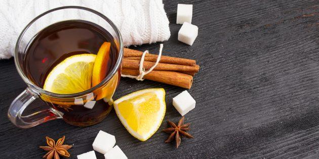 Как приготовить безалкогольный грог с пряностями