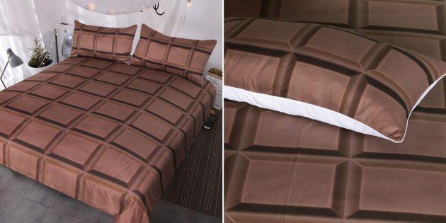 Шоколадное постельное бельё