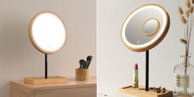 Подарки на 14февраля: зеркало с подсветкой