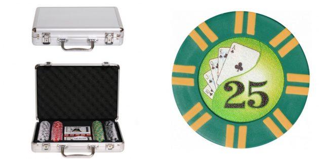 Подарки на 14февраля: набор для покера