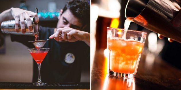 Подарки на 14февраля: мастер-класс бармена