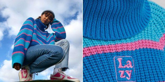 Ленивый свитер