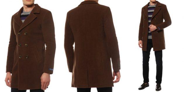 Шерстяное пальто Caravan Wool