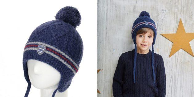 Тёплая шапка Totti