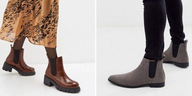 Классическая обувь: челси